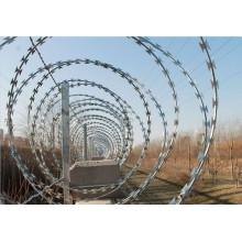BTO-22 Razor barbed wire /CBT galvanized razor wire