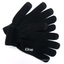 Men′s Fashion Acrylic Knitted Touch Screen Gloves (YKY5459)