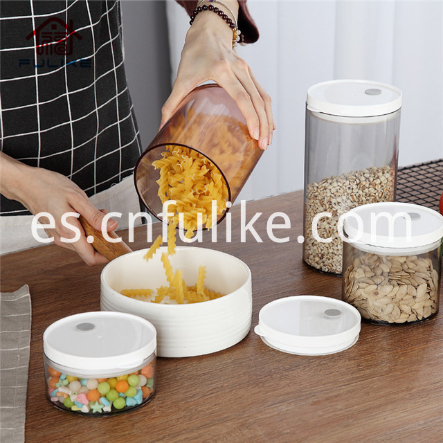Plastic Jars Food Grade