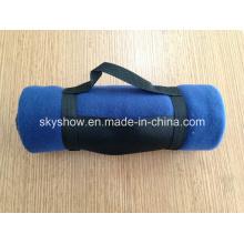 Manta de lana con asa de Nylon (SSB0123)