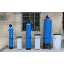 Machine de traitement de chaudière de prix de système d'adoucisseur de résine d'eau dure