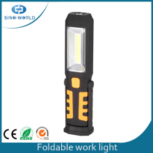 3W COB Hook Magnetic Led Luz de trabajo