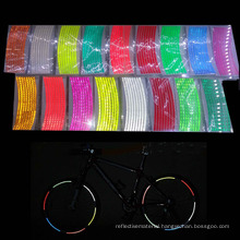 Reflective Bicycle sticker/Reflective Bicycle Wheel Sticker