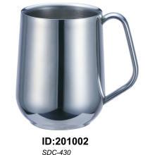 Sdc-430 18/8 De Aço Inoxidável Caneca Dupla Parede Sdc-430