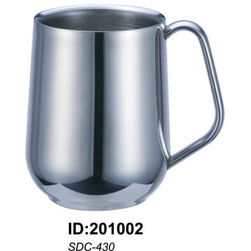 Sdc-430 18/8 Stainless Steel Double Walled Mug Sdc-430