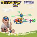 Jouet d'hélicoptère éducatif éducatif intéressant