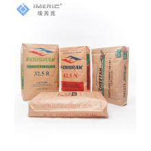 Bolsa de cemento tejido PP