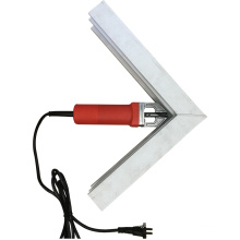 portable electric v-shape cleaning tools for upvc window making