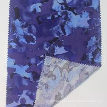 Tela de seda hilada floral con estampado de popelina de rayón 100%