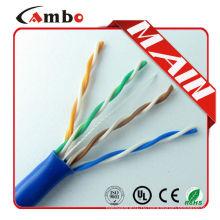Высококачественный проводной кабель Ethernet медного проводника cat5 cmx Стандарты EIA / TIA-568B 1000ft / carton