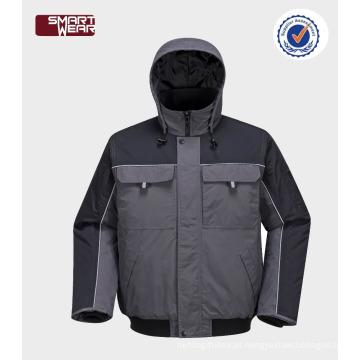 Alta qualidade barato workwear roupas atacado piloto de segurança jaqueta
