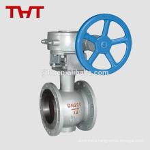 Side-Mounted eccentric half control ball valve