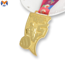 Metal custom commemorative coin hammered medal