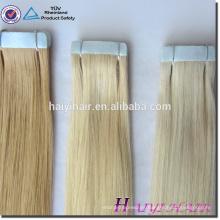 Fábrica brasileña caliente de la máquina de las extensiones del pelo de la cinta de Remy del precio de fábrica vendedor