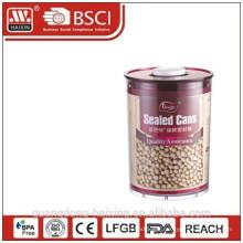 plastic airtight canister