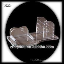 K9 Conjunto exclusivo de escritório em cristal