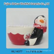 2016 Nueva taza de cerámica del pudín del diseño