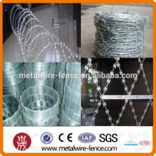 makeup suppliers China weight PVC coated barbed wire