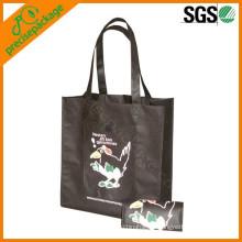 Bolso de compras no tejido plegable reutilizable de Eco