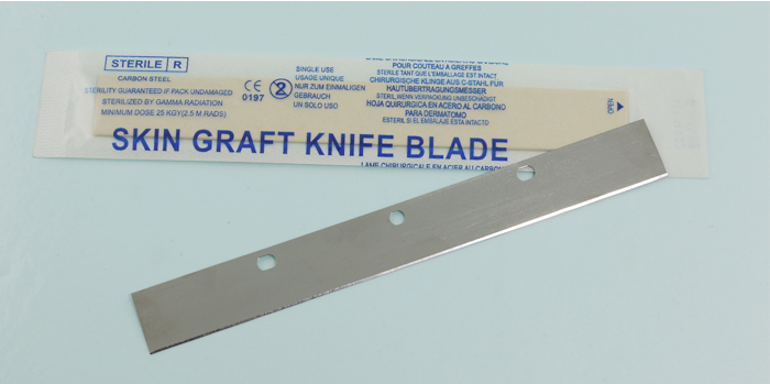 High quality of skin graft blade