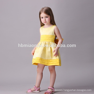 White Yellow Pink Color Elegant Girls Kids Wedding Bridesmaid Pageant Party Flower Girl Dresses