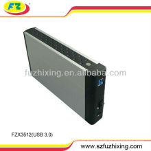 High Speed USB 3.0 3.5 hard disk enclosure SATA HDD Enclosure