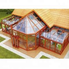 Foshan wanjia usine haut toit en aluminium sunroom