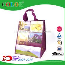 OEM Производство вторичной переработки из rpet нетканые хозяйственная сумка