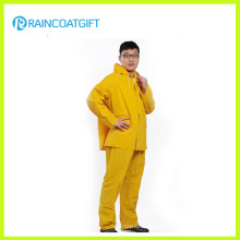 0,32 mm en PVC poli PVC Rainsuit (RPP-041)
