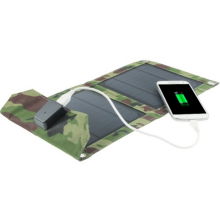7W Mobile Phone iPad Electric Book Foldable Solar Charger Bag Pack with TUV Certification