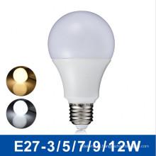 Bulbo do diodo emissor de luz de Dimmable A19 / A60 / bulbos do globo do diodo emissor de luz / luz de bulbo 5W do diodo emissor de luz
