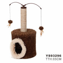 Simple Cheap New Design Modern Luxury Cat Trees With Toys