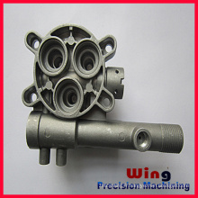 customized China precise die casting car part