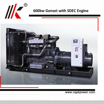SC25G GROUPE ELECTROGENE DIESEL WITH 600KW LOW RPM GENERATOR GENSET