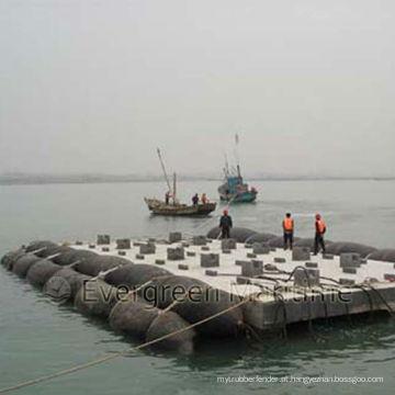 Airbags marinhos para o lançamento do navio, levantando, promovendo / levantando airbags marinhos infláveis