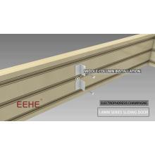 Elektrische Aluminium-Lamellentür für Wohnzimmerschiebetür