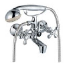 Современный смеситель для ванны с двойной ручкой (ZR8063-3C)
