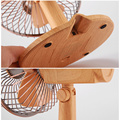 Mini ventilateurs de swing de table secouant le vent plus frais