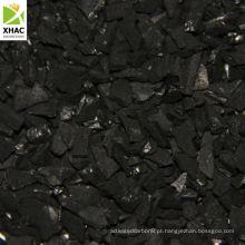 Uso ativado de carbono para venda na Indústria do ouro Shell de coco com base em 8x16, carbono ativo de malha 6x12