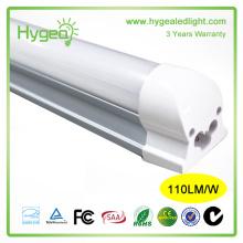 Puissance élevée 4000-4500K nature blanc 6ft 180cm 26W T8 lampe à tube LED avec certification UL