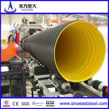 200mm ~ 800mm HDPE Double Wall Corrugated Pipes for Drainage