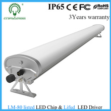 Único dispositivo elétrico do tubo do diodo emissor de luz de T8 IP65 / luz Tri-Proof com sistema do cair