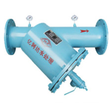Pn16 Manual Drive Brush Water Filter for Cooling Tower Filtering