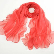 Promotional Products Pure Silk Scarf Long Scarf Shawl Red