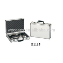 new arrival aluminum pistol carrying case with foam inside manufacturer good quality