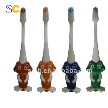Hot selling child toothbrush , soft bristle kid toothbrush
