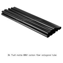 19x17x500mm Echt 3K Twill Matte Fabrik Preis Kohlefaser Booms oder Rohre für Multicopter