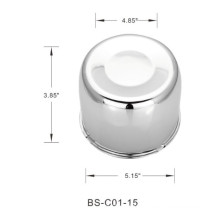130.8mm Bore Car Center Hub Caps Cover with Steel Material