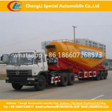 3 Axle 50ton Bulk Cement Powder Tank Truck