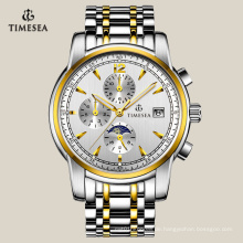 Männer Freizeit automatische Uhr Multifunktions Armbanduhr 72106
